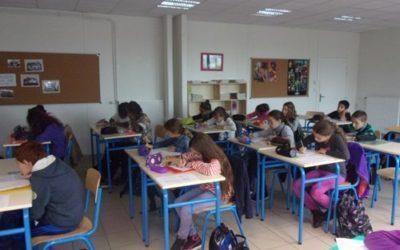 Atelier hiéroglyphes en classe de 6èB et 6èD