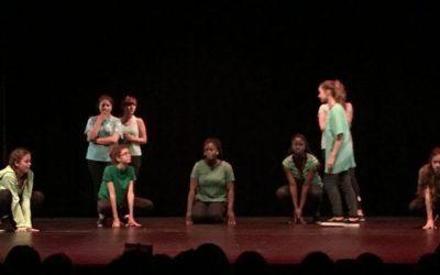 L'Atelier théâtre du collège.