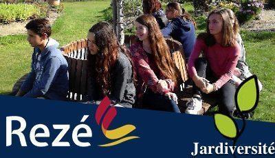 Les élèves du CVC en visite à Jardiversité.