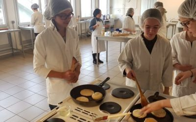 L'atelier Cuisine Chinoise – Qian ceng Bing (galette de mille couches)