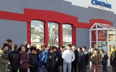 Collège au cinéma pour les 5D et l'ULIS.