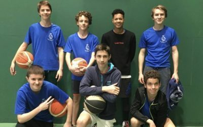 Finale départementale de Basket ball Minimes Garçons