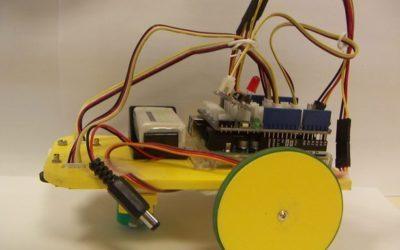 Réalisation d'un ROBOT suiveur de ligne en 3ème